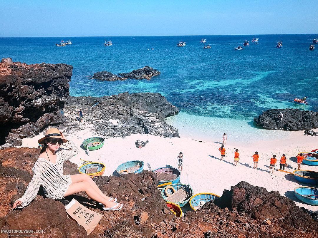 Cảnh đẹp tại đảo Bé - Lý Sơn