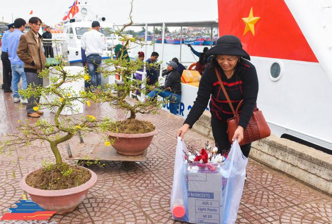 Vận tải biển tuyến Sa Kỳ - Lý Sơn sẽ hoạt động xuyên Tết.