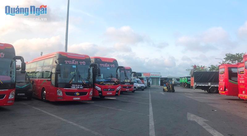 Các tuyến vận tải hành khách liên tỉnh đã được phép hoạt động trở lại