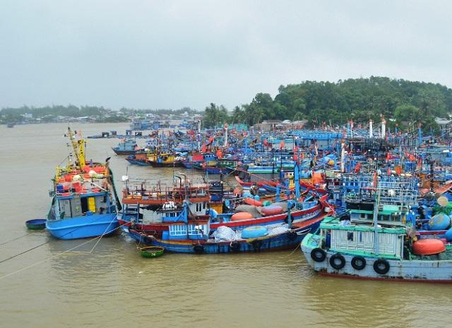 Nghiêm cấm tất cả các phương tiện, tàu, thuyền ra biển hoạt động (bao gồm cả phương tiện vận tải hành khách tuyến Sa Kỳ - Lý Sơn và ngược lại) từ 20 giờ ngày 26/10.