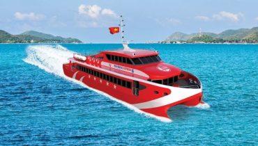 Hình minh họa (Tàu siêu tốc 5 Sao tuyến Hà Tiên - Phú Quốc)